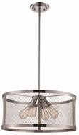 Trans Globe 10384-PC Mist Modern Polished Chrome 20  Ceiling Pendant Light