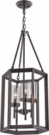 Trans Globe 10423-ROB Circuit Modern Rubbed Oil Bronze 12  Entryway Light Fixture