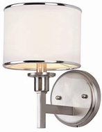 Trans Globe 1051-BN Cadance Brushed Nickel Wall Sconce