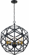 Trans Globe 10565-ROB Cyrus Contemporary Rubbed Oil Bronze Drop Lighting