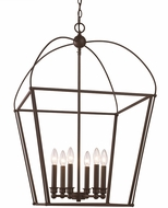 Trans Globe 10816-ROB Agnew Rubbed Oil Bronze Entryway Light Fixture