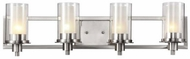 Trans Globe 20044 Odyssey Modern Brushed Nickel 4-Light Bath Lighting