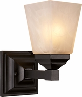 Trans Globe 20331-BK Mission Bath Black Sconce Lighting