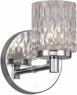 Trans Globe 20491-PC Bayou Contemporary Polished Chrome Halogen Wall Lighting