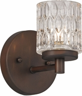 Trans Globe 20491-ROB Bayou Modern Rubbed Oil Bronze Halogen Sconce Lighting