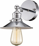 Trans Globe 20511-PC Griswald Contemporary Polished Chrome Light Sconce