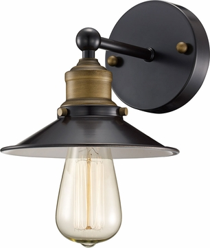 Trans Globe 20511-ROB Griswald Modern Rubbed Oil Bronze Lighting Sconce