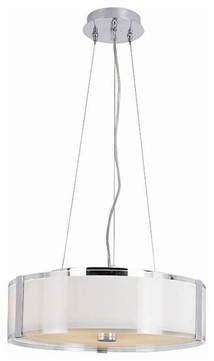 Trans Globe 2093 Framed Modern Large Pendant Light