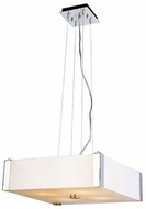 Trans Globe 3093-PC Desert Fog Contemporary Polished Chrome 16  Hanging Light Fixture