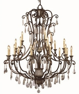 Trans Globe 3961 Traditional Antique Bronze 52  Chandelier Light