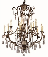 Trans Globe 3965 Traditional Antique Bronze 42  Lighting Chandelier
