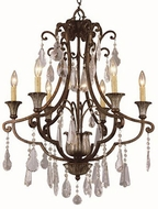 Trans Globe 3966 Chatsworth Traditional Antique Bronze 25.5  Chandelier Lamp