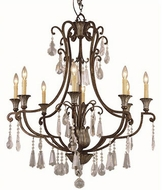 Trans Globe 3968 Chatsworth Traditional Antique Bronze 34  Chandelier Light