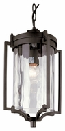 Trans Globe 40134 Small Outdoor 15 Inch Tall Pendant Hanging Light