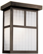 Trans Globe 40140-ROB Mariposa Craftsman Rubbed Oil Bronze Outdoor 7 Lighting Wall Sconce
