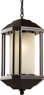 Trans Globe 40255-ROB 40250 Series Rubbed Oil Bronze Outdoor Pendant Lamp