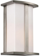 Trans Globe 40290-ST Chime Contemporary Steel Exterior Lighting Sconce
