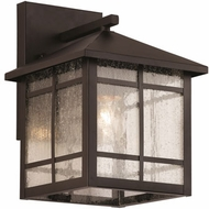 Trans Globe 40340-ROB Capistrano Traditional Rubbed Oil Bronze Exterior Wall Sconce Lighting