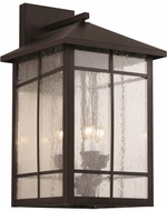 Trans Globe 40342-ROB Capistrano Traditional Rubbed Oil Bronze Exterior Lighting Wall Sconce