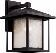 Trans Globe 40361 Square Seeded Outdoor Lighting Wall Sconce