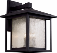 Trans Globe 40362 Square Seeded Exterior Wall Lighting Sconce