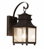Trans Globe 45630-WB Santa Ines Weathered Bronze Outdoor 14  Wall Sconce