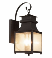 Trans Globe 45632-WB Santa Ines Weathered Bronze Outdoor 24.5  Wall Lighting
