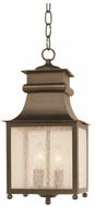 Trans Globe 45633-WB Santa Ines Traditional Weathered Bronze Outdoor Drop Ceiling Lighting