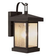 Trans Globe 45640-WB Santa Cruz Weathered Bronze Exterior 12  Sconce Lighting