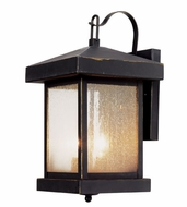 Trans Globe 45641-WB Santa Cruz Weathered Bronze Outdoor 14  Light Sconce