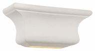 Trans Globe 5002 WH Transitional 12 Inch Wide White Finish Lighting Sconce