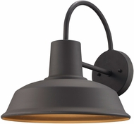 Trans Globe 50330-WB Tacoma Modern Weathered Bronze Outdoor Wall Light Fixture