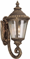 Trans Globe 5040-BG Commons Contemporary Black Gold Outdoor Wall Lighting Sconce