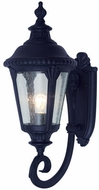 Trans Globe 5040-BK Commons Contemporary Black Exterior Wall Sconce Lighting