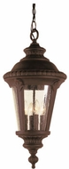 Trans Globe 50491-BK Commons Traditional Black Outdoor Drop Ceiling Light Fixture