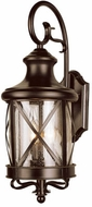 Trans Globe 5120-ROB Chandler Traditional Rubbed Oil Bronze Outdoor 7.5 Sconce Lighting
