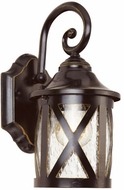 Trans Globe 5129-ROB Chandler Traditional Rubbed Oil Bronze Exterior Lamp Sconce