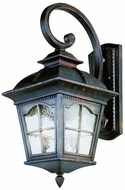 Trans Globe 5424-AR Briarwood Traditional Antique Rust Exterior Wall Mounted Lamp