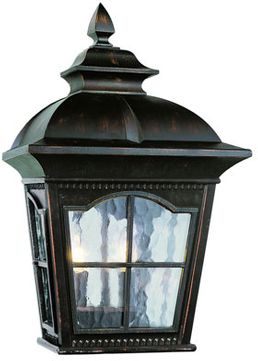 Trans Globe 5429-1-AR Briarwood Traditional Antique Rust Exterior Wall Sconce Light