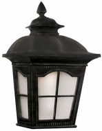 Trans Globe 5429-1-BK Briarwood Traditional Black Outdoor Wall Sconce