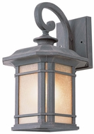 Trans Globe 5821-RT San Miguel Rust Outdoor 9 Light Sconce