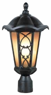 Trans Globe 5945 Knotted Black Bronze Large Outdoor Post Lighting