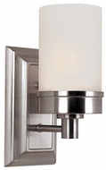 Trans Globe 70331-BN Fusion Contemporary Brushed Nickel Wall Light Fixture