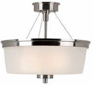Trans Globe 70335-1-BN Fusion Modern Brushed Nickel Ceiling Lighting