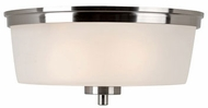 Trans Globe 70335-BN Fusion Contemporary Brushed Nickel Overhead Lighting Fixture