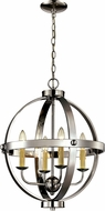 Trans Globe 70594-PC Laurence Modern Polished Chrome 19  Pendant Light
