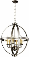 Trans Globe 70596-BN Laurence Contemporary Brushed Nickel 23.5  Lighting Pendant