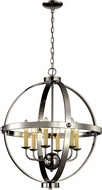 Trans Globe 70596-PC Laurence Modern Polished Chrome 23.5  Pendant Lamp