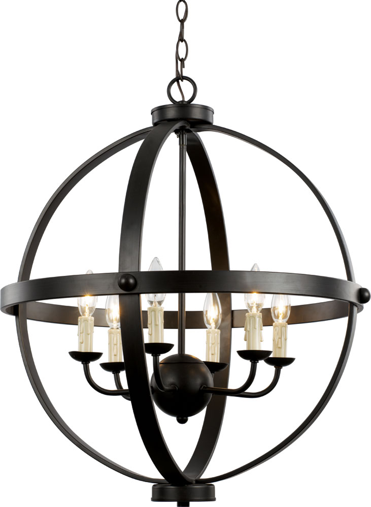 Trans Globe 70596 Rob Sphere Modern Rubbed Oil Bronze