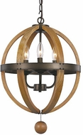 Trans Globe 70600 Woodland Weathered Bronze Pendant Lighting